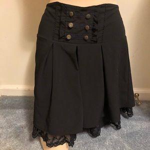 Steampunk goth shorts